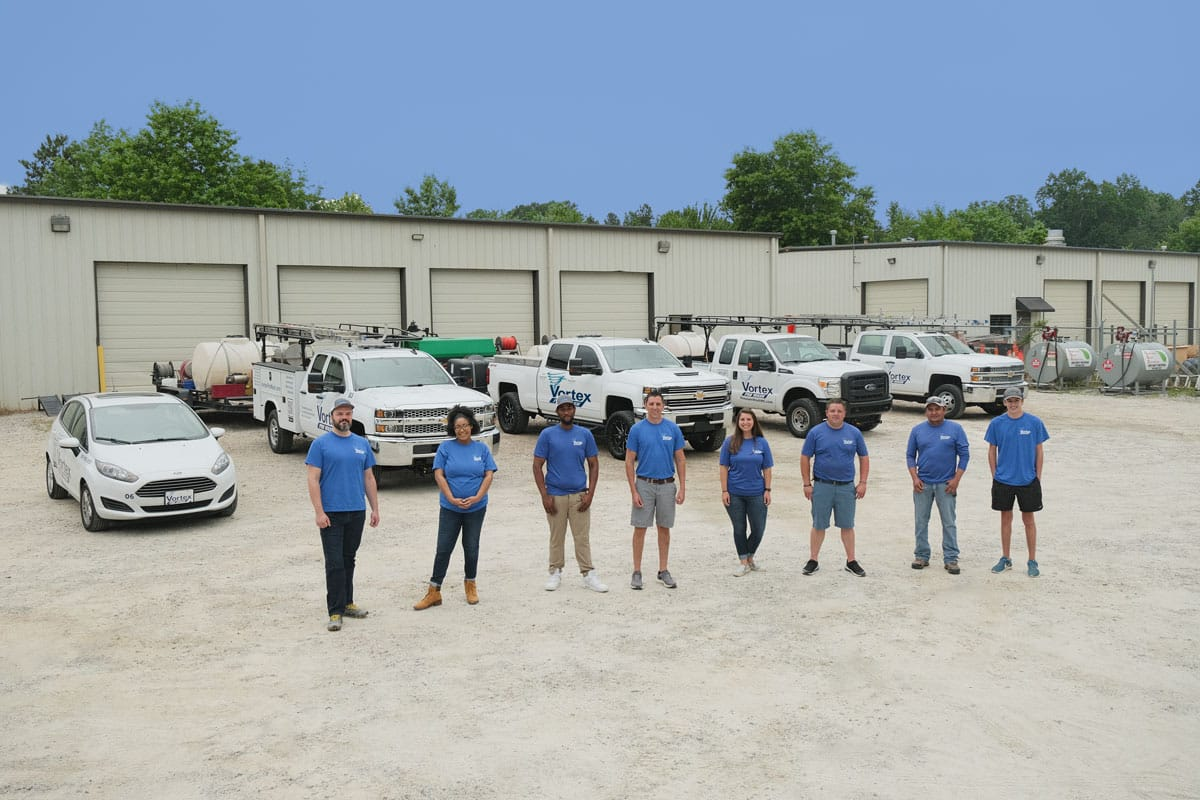 Vortex Pro Wash Team Photo
